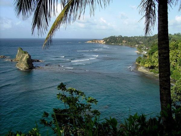 Трафальгарские водопады – Доминика
