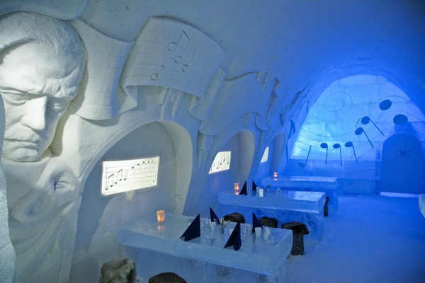 Снежный замок - LumiLinna