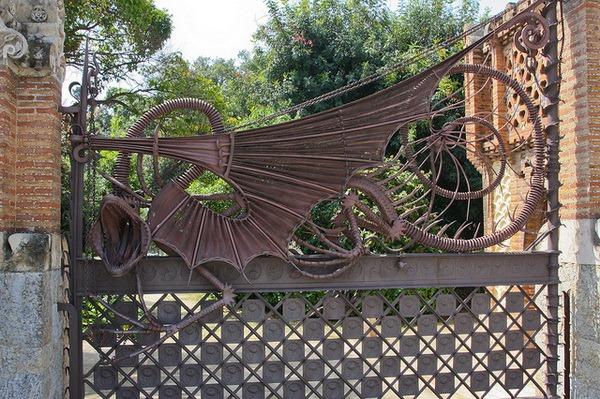 Ворота Усадьбы Гуэля