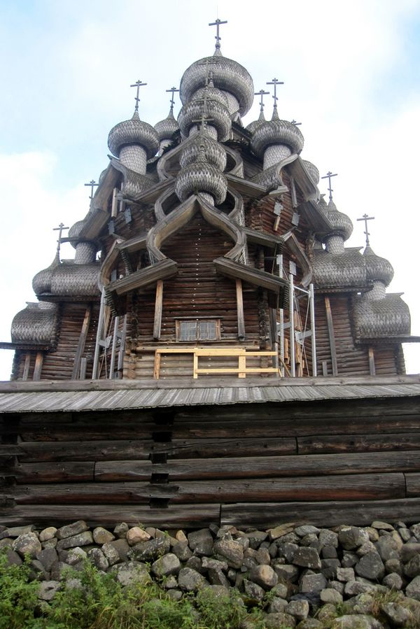 Церковь Преображения Господня в Кижах