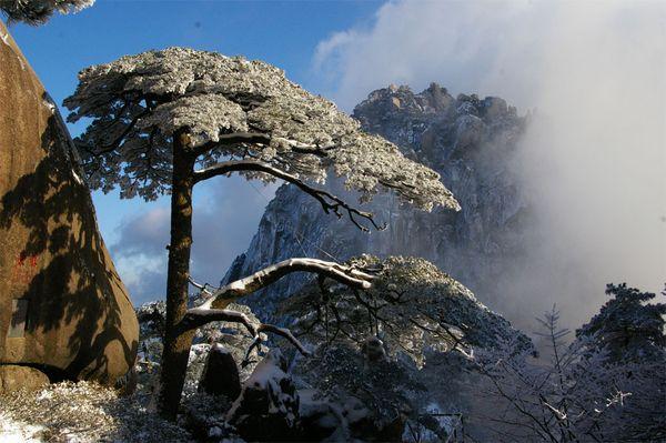 Горные пики Хуаншань