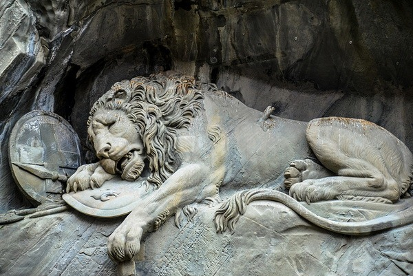 Умирающий лев Люцерна