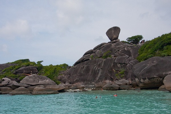 Камень Парус- Симиланские острова
