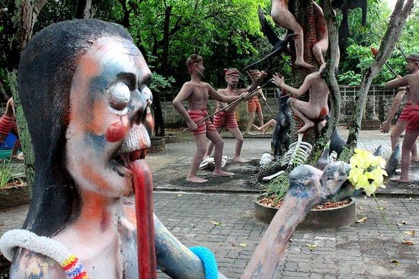 Музей «Ад и рай» (Wang Saen Suk )