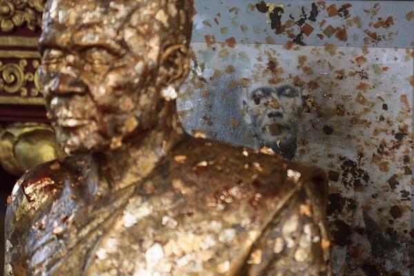 Wat Khunaram: Мумифицированный монах на Самуи Мумифицированный монах на Самуи Мумифицированный монах на Самуи 12518448383 f43559cd16 z